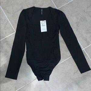 Black Zara Bodysuit